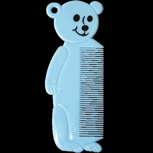 Kinderkamm - Bär Hellblau - 14 cm