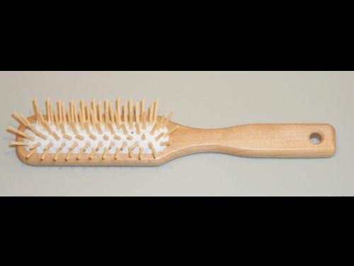 Haarbürsten Ahornholz Holzstifte - 21 cm