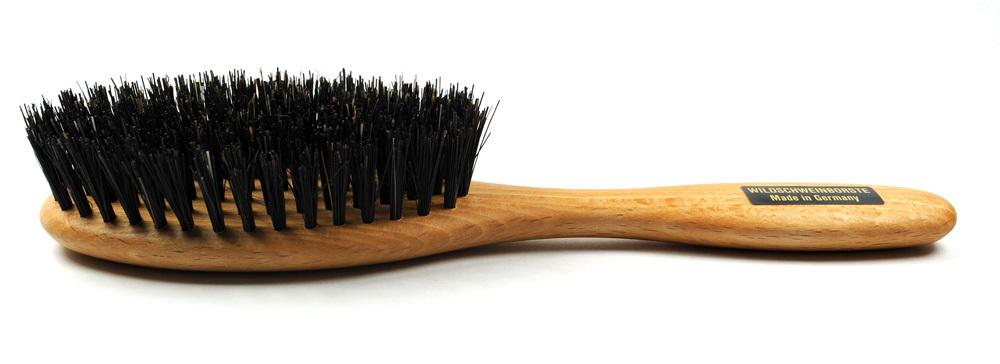 Haarbürsten Buchenholz natur - 20 cm