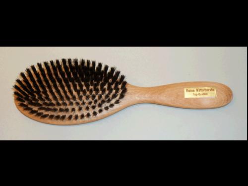 Haarbürsten Buchenholz natur - 23 cm