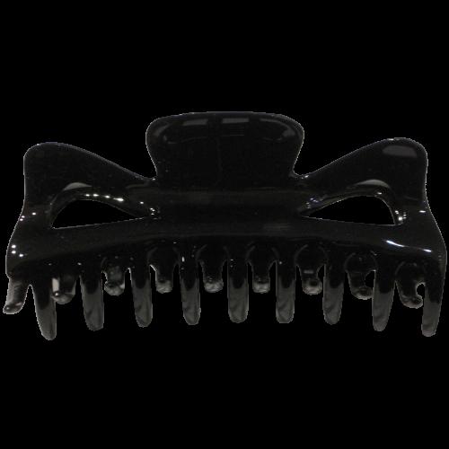 Haarklammer Schwarz - 11 cm