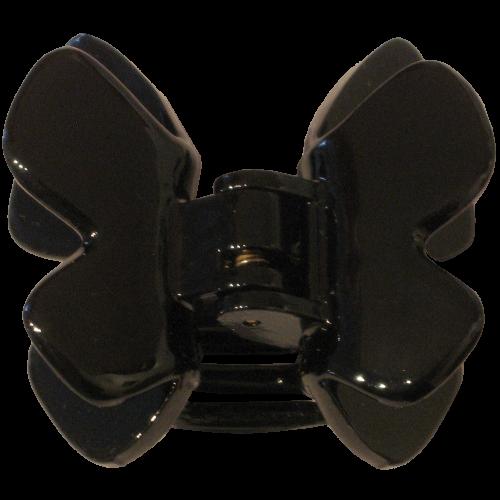 Haarklammer Schwarz - 4,5 cm