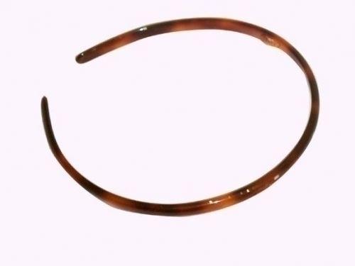 Haarreif havanna-braun - 8 mm