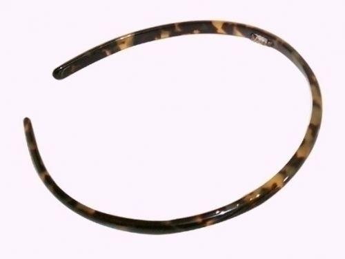 Haarreif schildpatt - 8 mm