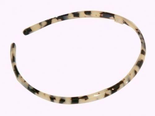 Haarreif schildpatt-weiß - 8 mm