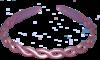 Haarreif Seidenschimmer Flieder - 10 mm breit