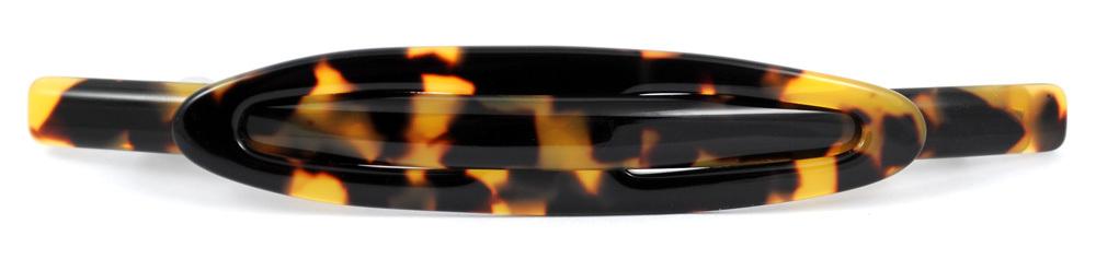 Haarspange schildpatt - 11 cm