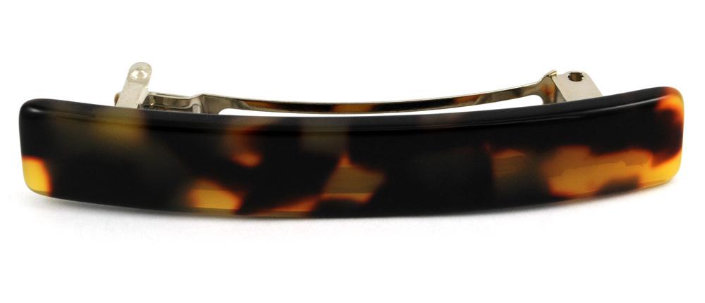 Haarspange schildpatt mit 6 cm Clip
