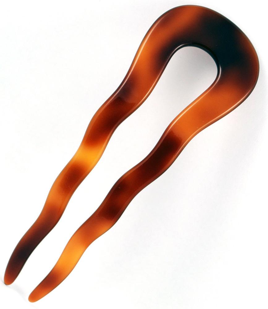 Haarstecker havannabraun - 10 cm