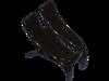Haarklammer schwarz- 3,5 cm
