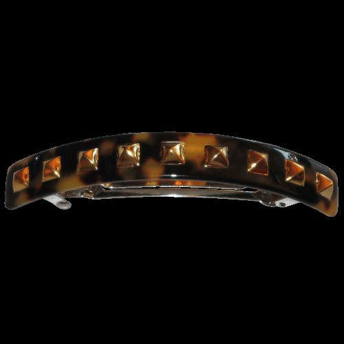 Haarspange Goldnieten - 10 cm
