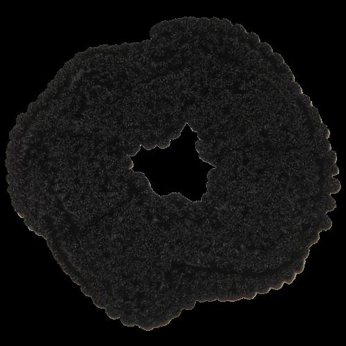 Scruncie schwarz