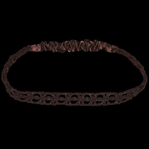 Haarband dunkelbraun