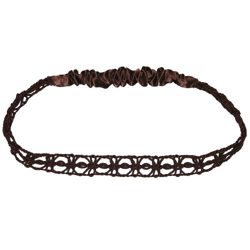Hair-band darkbrown
