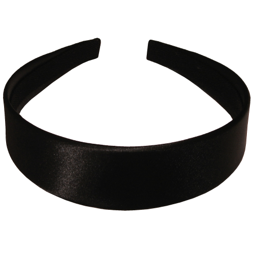 Head-band black in 3,5 cm