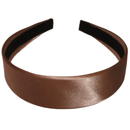 Head-band light brown in 3,5 cm