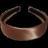 Haarreif hellbraun 3,5 cm breit