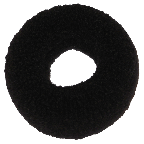 Großer Haargummi schwarz
