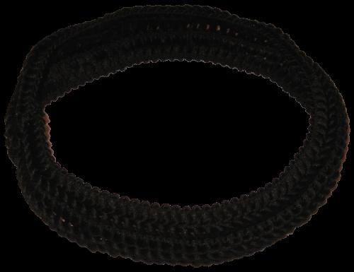Haarband schwarz