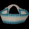 Haarband türkis-elfenbein