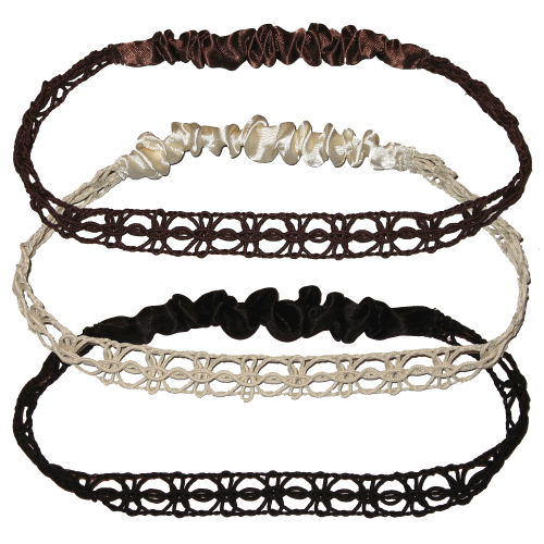 Hair-band in 3 colours
