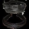 Haarschmuck Set schwarz-silber