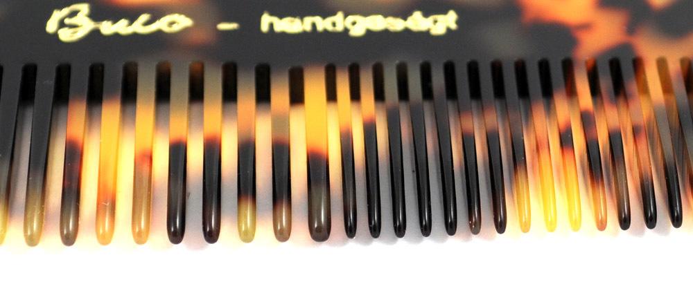 Exklusiver Herrenkamm  handgesägt - 12,5 cm