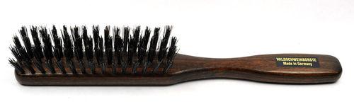 Haarbürste Buchenholz nussbraun 21,5 x 2,5 cm
