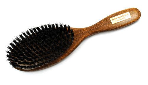 Haarbürste Buchenholz nussbraun 23,0 x 6,3 cm