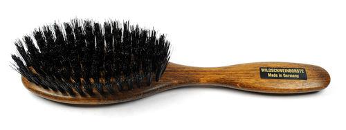 Haarbürste Buchenholz nussbraun 20,0 x 4,7 cm