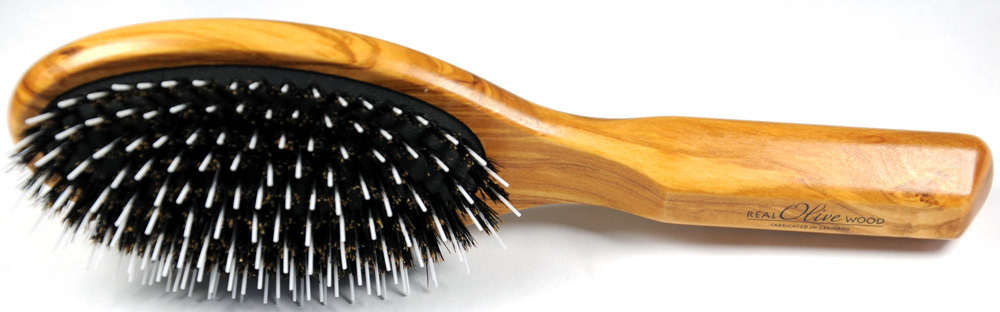 Haarbürste Olivenholz