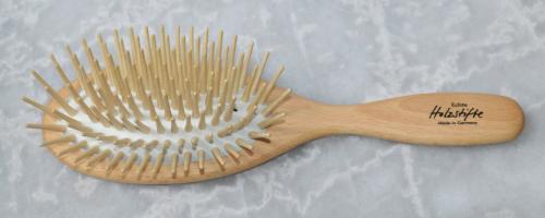 Haarbürste Buchenholz 23,0 x 6,3 cm