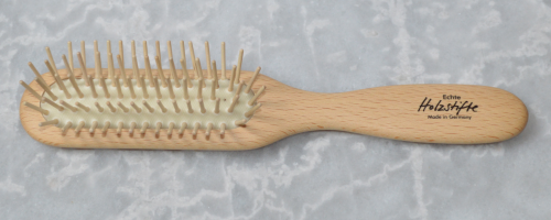 Haarbürste Buchenholz 21,6 x 3,3 cm