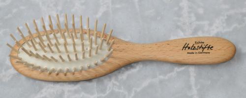 Haarbürste Buchenholz