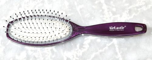 hair-brush airlastic lila-metalic - 21,5 cm