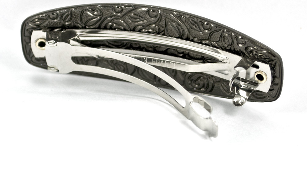 Haarspange BAGNOL anthrazit-silber