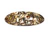 Haarspange oval onyx - 9,5 cm