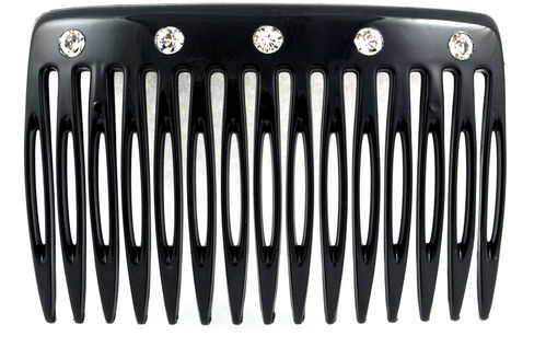 Side-comb strass - 7 cm