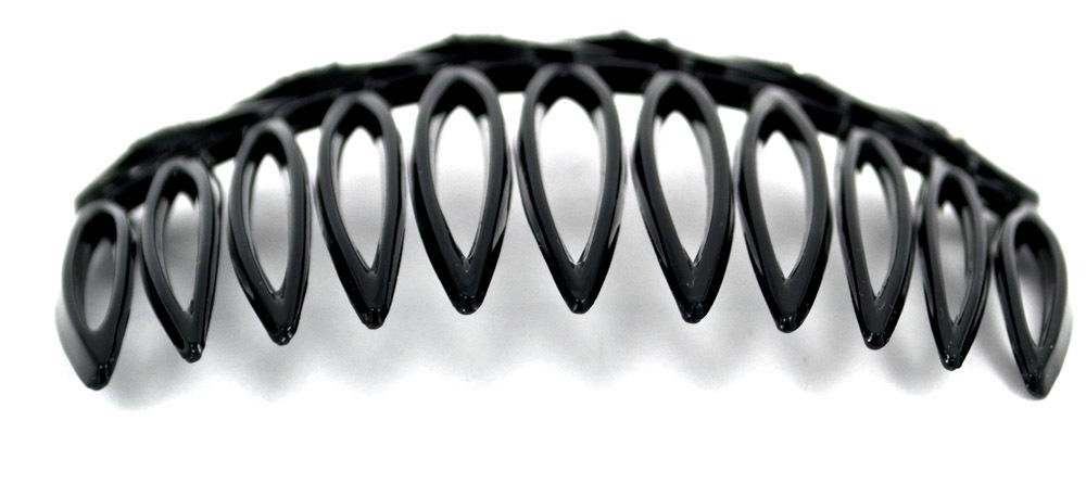 Charmanter Steckkamm, strassverziert, 8 cm