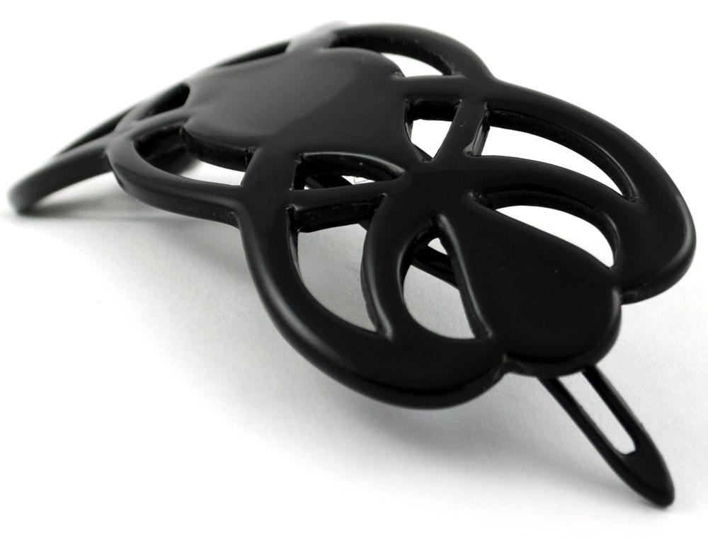 Haarspange schwarz  9 cm
