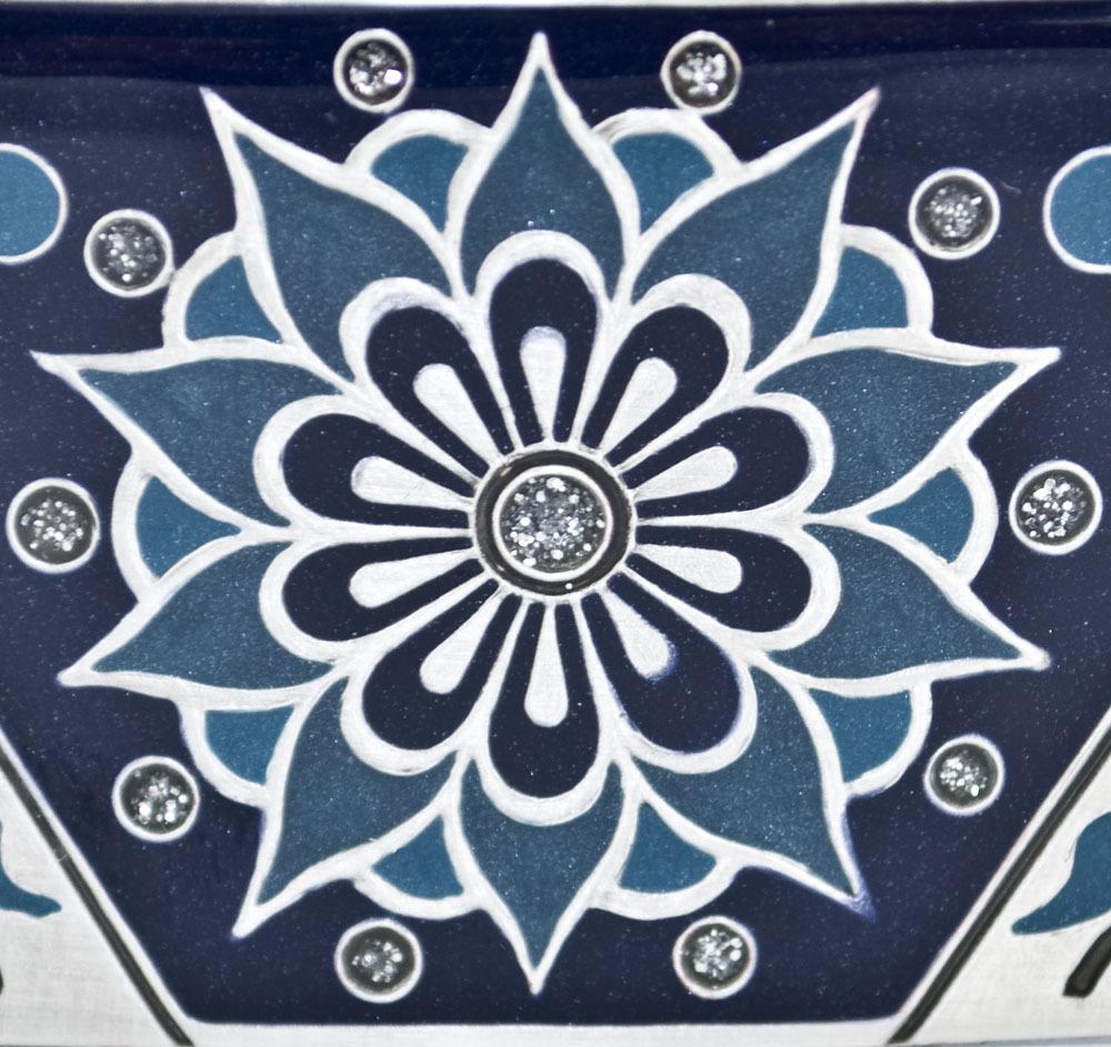 Haarspange Fameux - marine-blau