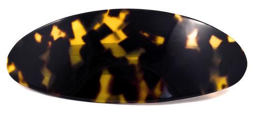 Haarspange oval schildpatt 10 cm