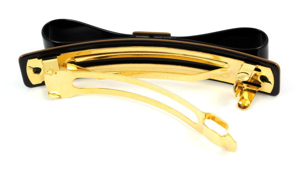 Feine elegante Haarspange in Schleifenform