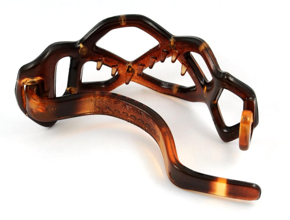 Strass-Haarspange mit Kunststoffbügel